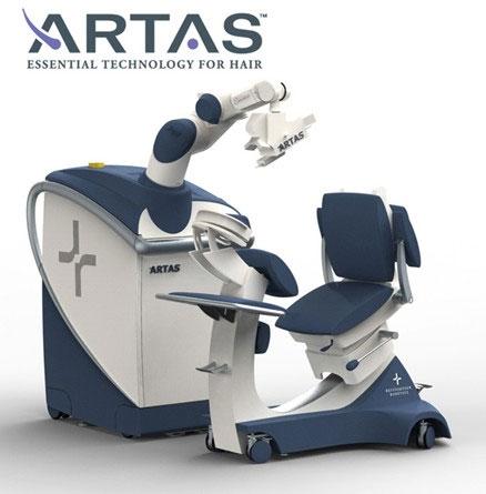 ARTAS hajbeültetés robot