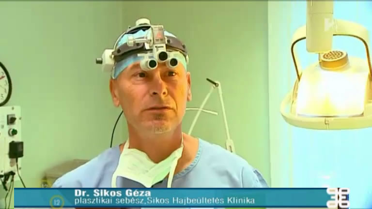 Géza Sikos, M.D. plastic surgeon, hair transplant surgeon